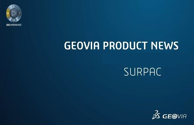 Phần mềm GEOVIA Surpac