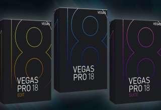 Phần mềm làm video MAGIX Vegas Pro