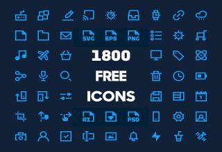 Tải xuống 1800+ Biểu tượng với nhiều chủ đề khác nhau
