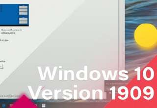 Tải xuống Windows 10 AIO v1909 Build 18363.719