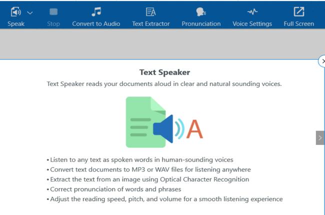 Phần mềm Text Speaker full