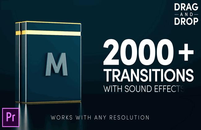 Bộ hiệu ứng chuyển cảnh Modern Transitions