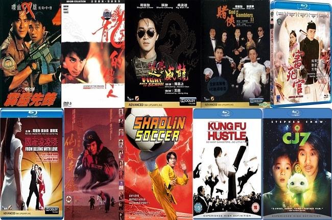 Tuyển tập các bộ phim về Châu Tinh Trì 1080p