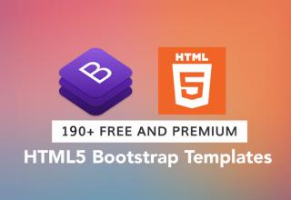 Chia sẻ 190 Template Bootstrap Premium