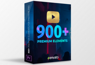 Bộ Youtube Pack - 900+ Transitions & Assets