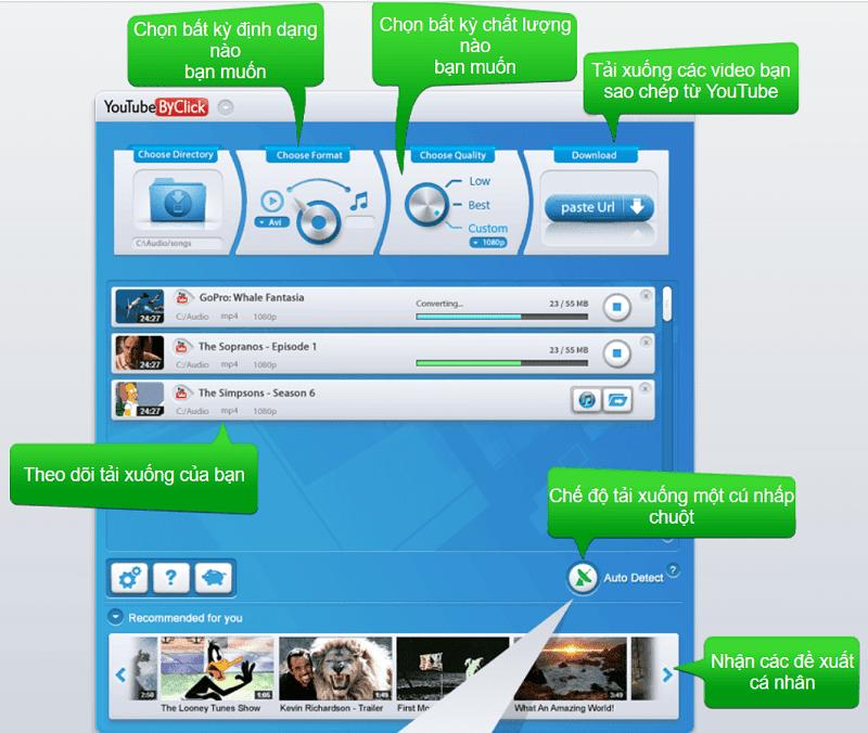 phần mềm YouTube By Click Premium