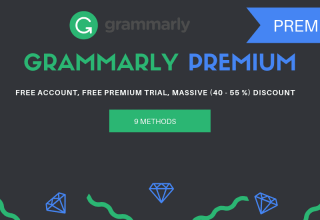 Chia sẻ tài khoản Grammarly Premium gía rẻ cập nhật mới nhất 2020