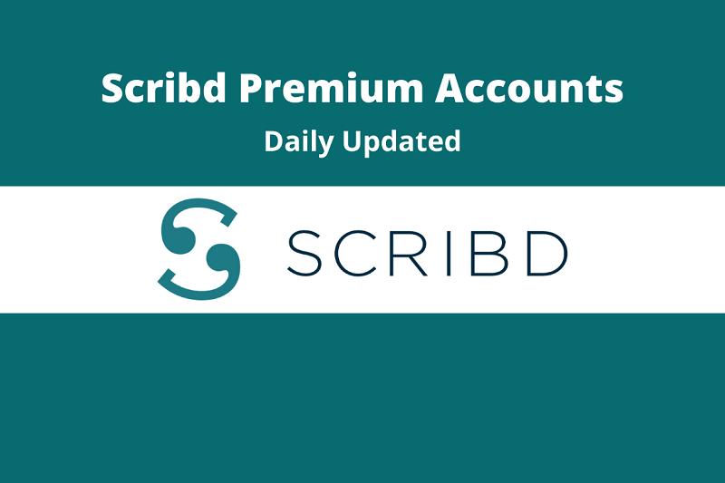Chia sẻ acc Scribd Premium dùng chung giá rẻ