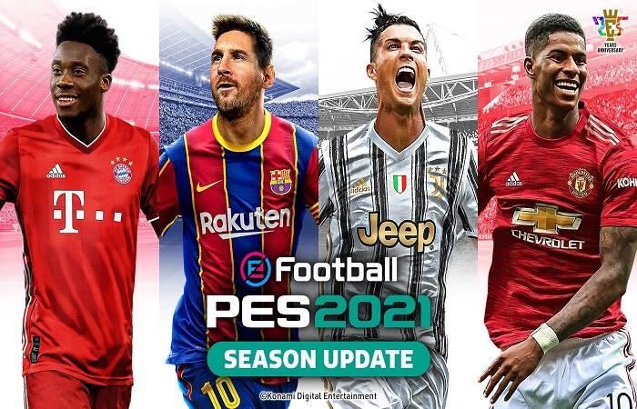 Game eFotball PES 2021 cực hay dành cho Pc
