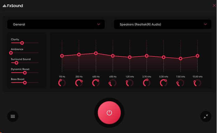 Phần mềm FxSound Pro
