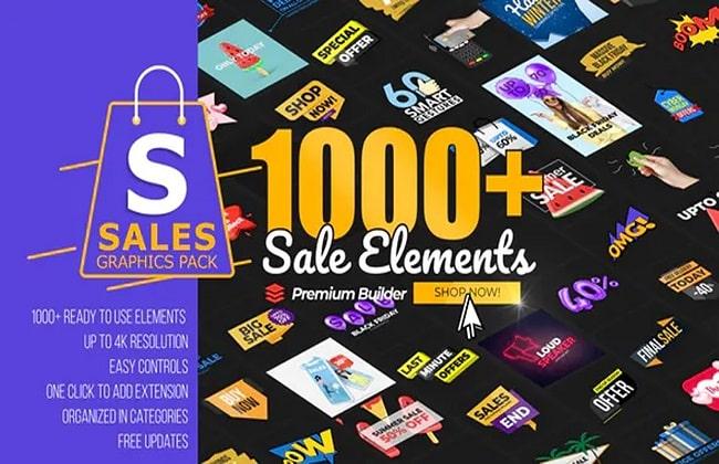 Tải xuống gói Graphic sale pack