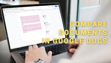 Cách so sánh hai tài liệu trong Google Docs
