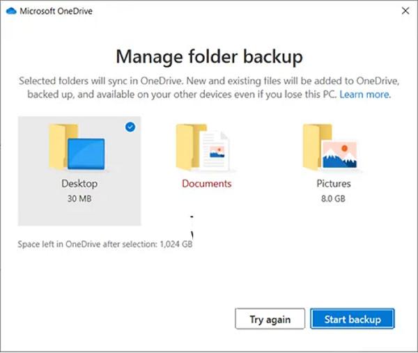 Hướng dẫn hủy liên kế, xoa thư mục khỏi OneDrive