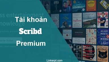 Tài khoản Scribd Premium 2021 Giá rẻ