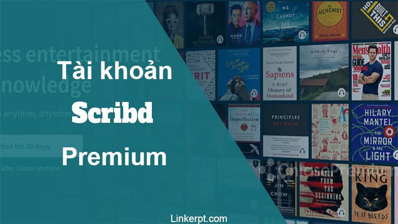 bán tài khoản scribd Premium 2021 giá rẻ