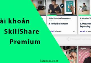 Tài khoản SkillShare Premium