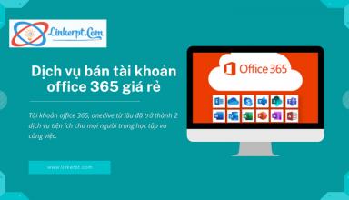 bán tài khoản office 365, onedrive giá rẻ