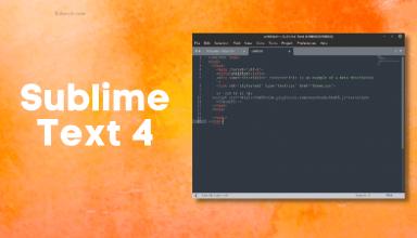 Phần mềm soạn thảo lập trình Sublime Text 4